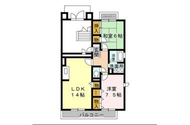千葉寺 徒歩10分 3階 2LDK 賃貸アパート