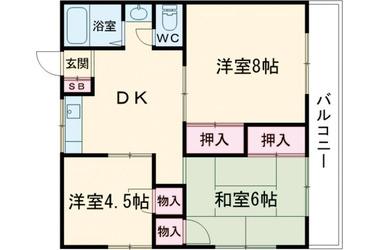 布田 徒歩19分 3階 3R 賃貸マンション