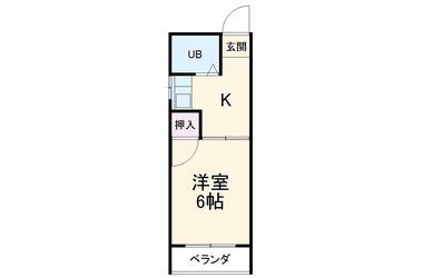 三条 徒歩18分4階1K 賃貸マンション