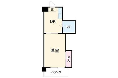 三条 徒歩21分4階1R 賃貸マンション