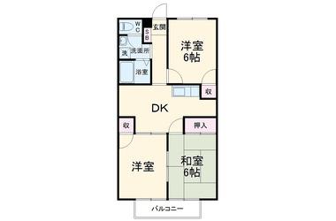 西前田 徒歩9分 1階 3R 賃貸アパート