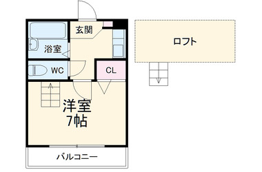 太田 徒歩17分 1階 1R 賃貸アパート