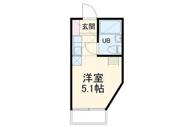 エクセルピア志津 2階 1R 賃貸アパート