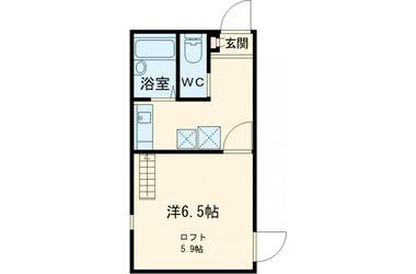 AZEST-RENT小平 1階 1R 賃貸アパート