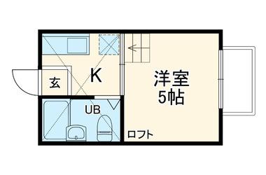 ブロッサムA 1階 1R 賃貸アパート