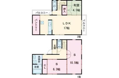 祖師ヶ谷大蔵 徒歩16分 1階 1SLDK 賃貸一戸建て