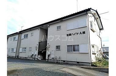 加藤ハイツA 2階 2DK 賃貸アパート