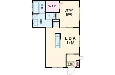奥沢 徒歩17分 1階 1LDK 賃貸アパート