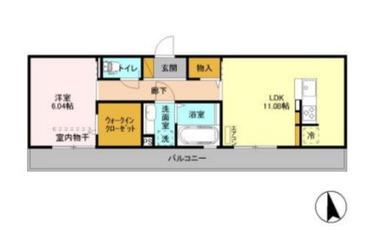 東千葉 徒歩12分 3階 1LDK 賃貸アパート