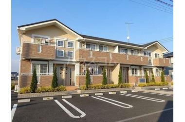 新鹿沼 バス10分 停歩5分 2階 1LDK 賃貸アパート