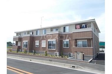 ゆめみ野 徒歩17分 2階 2LDK 賃貸アパート