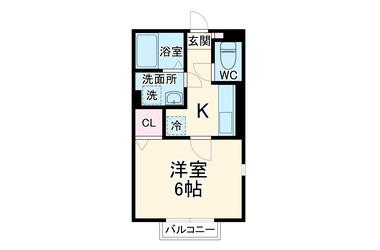 七里ヶ浜 徒歩7分 2階 1K 賃貸アパート