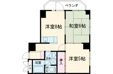 町屋伸和ビル 4階 2R 賃貸マンション
