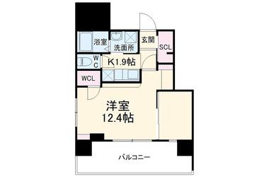 アロー北松戸27番館 3階 1K 賃貸マンション