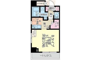 アロー北松戸27番館 5階 1K 賃貸マンション