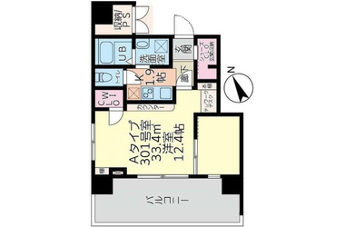 アロー北松戸27番館 7階 1K 賃貸マンション