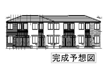 グランディルⅡ 2階 1LDK 賃貸アパート