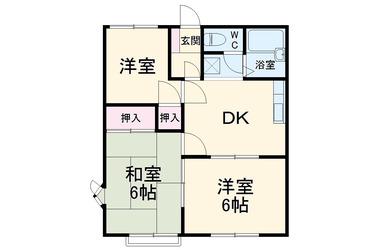 上総村上 徒歩19分 2階 3DK 賃貸アパート