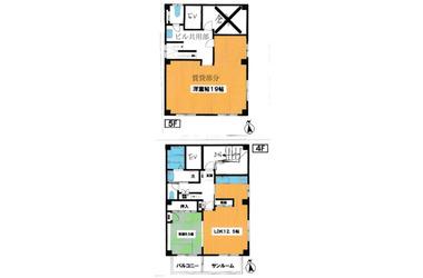 田端 徒歩8分 4-5階 2LDK 賃貸マンション