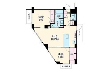 パレステージ山手石川町 4階 2LDK 賃貸マンション