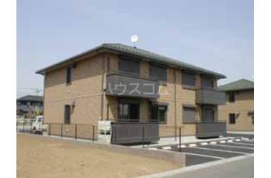 グランベルク D 2階 2LDK 賃貸アパート