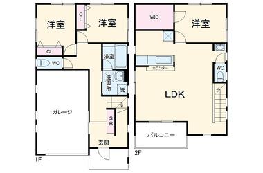 上総村上 徒歩29分 1-2階 3LDK 賃貸一戸建て
