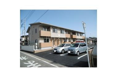 成島 徒歩27分 2階 2LDK 賃貸アパート