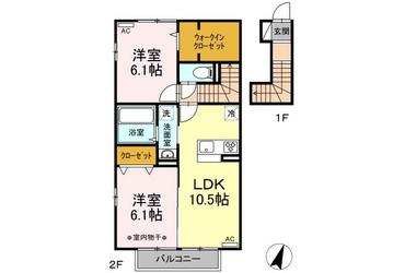 (仮)D-room昭和町 2階 2LDK 賃貸アパート