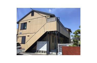 小金井 徒歩17分 2階 2DK 賃貸アパート