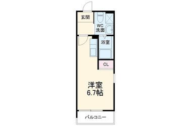 京急大津 徒歩14分 3階 1R 賃貸アパート