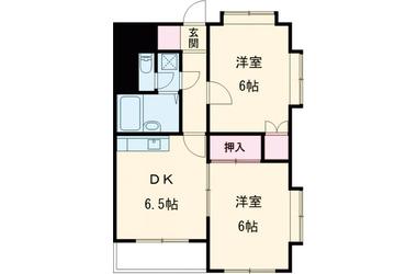 リファイン駒沢 3階 2DK 賃貸マンション