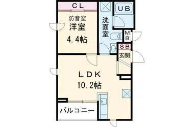 観空SOUND HILL 5階 1LDK 賃貸マンション