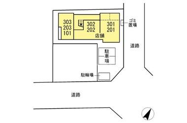 五井 徒歩3分 3階 1LDK 賃貸マンション