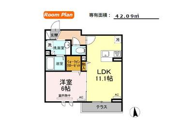 (仮)代田6丁目計画 1階 1LDK 賃貸アパート