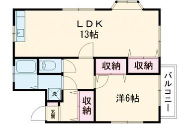 渋谷ハイツ 3階 1LDK 賃貸マンション