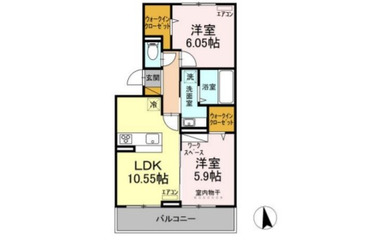 D-roomちはら台F 3階 2LDK 賃貸マンション