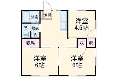 上総村上 徒歩36分 1階 3DK 賃貸一戸建て