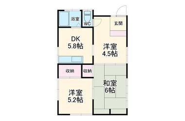 永野貸家 1階 3DK 賃貸一戸建て