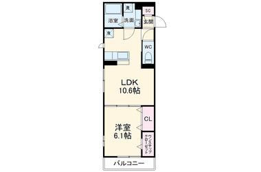(仮)D-room桜ヶ丘 2階 1LDK 賃貸アパート