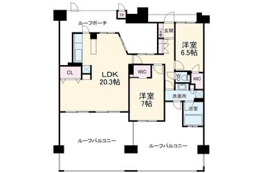 千葉 徒歩17分 14階 2LDK 賃貸マンション