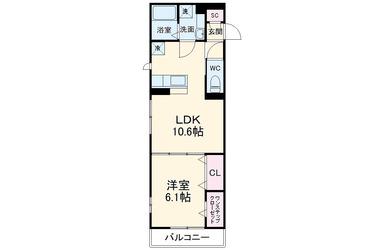 (仮)D-room桜ヶ丘 3階 1LDK 賃貸アパート