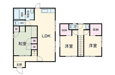 本鵠沼 徒歩4分 1-2階 3LDK 賃貸一戸建て
