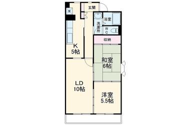 狛江セントラルハイツ3号棟 15階 2LDK 賃貸マンション