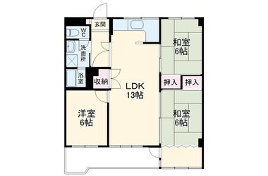 ちぇるる野毛 9階 3LDK 賃貸マンション