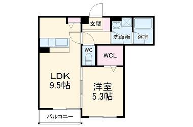 千葉寺 徒歩17分 3階 1LDK 賃貸アパート