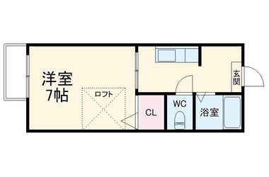 グローリエ・プラッツ 2階 1R 賃貸アパート