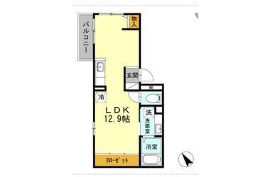 ヴィラージュ横濱 3階 1R 賃貸アパート