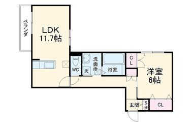 アレイズ上星川 1階 1LDK 賃貸マンション