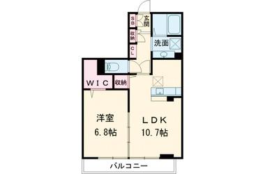 イグレック立川Ⅱ 3階 1LDK 賃貸マンション