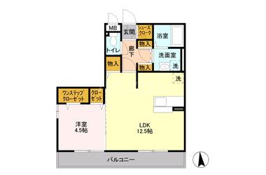 鶴瀬 徒歩4分 3階 1LDK 賃貸アパート